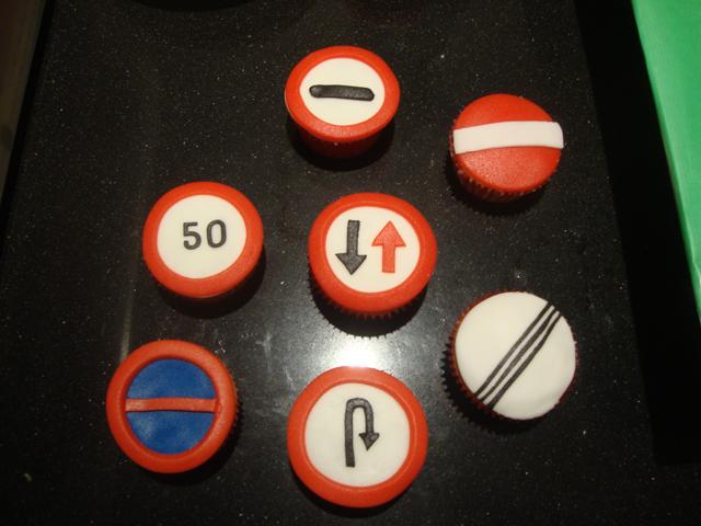 verkeersbord taart Verkeersborden – Sonja's taarten verkeersbord taart