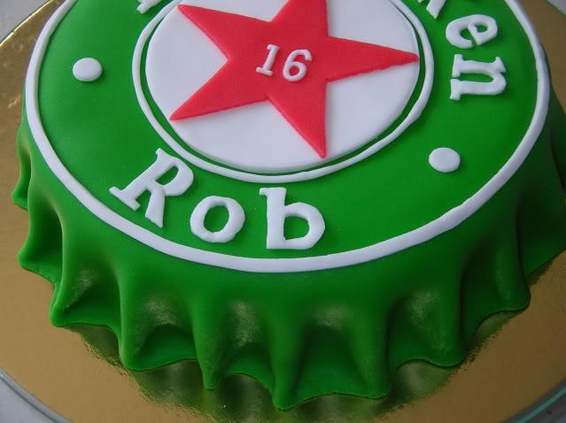 taart heineken Heineken bierdop – Sonja's taarten taart heineken